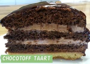 Chocotoff Taart