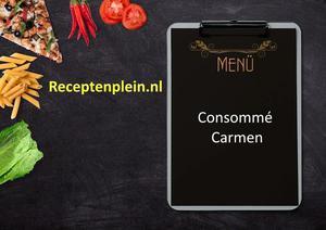 Consomme Carmen