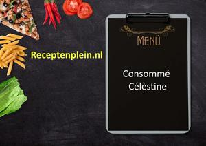 Consomme Celestine