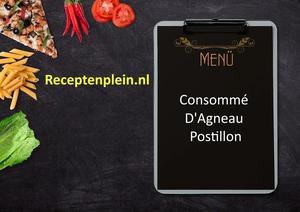 Consomme DAgneau Postillon