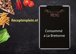 Consomme a La Bretonne