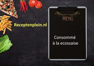 Consomme a La Ecossaise