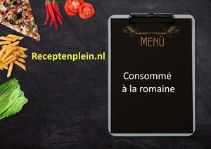 Consomme romaine