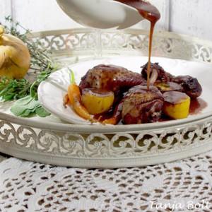 Coq au Vin, traditionele wijze