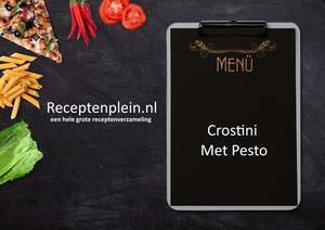 Crostini Met Pesto