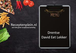 Drentse David Eet Lekker