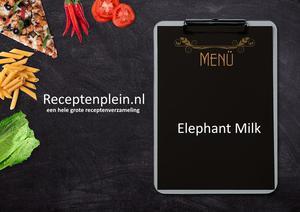 Elephant Milk