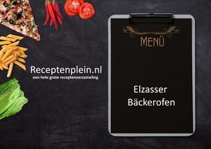 Elzasser Backerofen