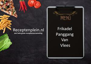 Frikadel Panggang Van Vlees