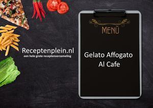 Gelato Affogato Al Cafe