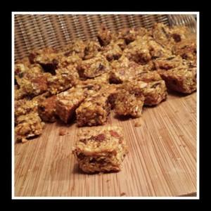 Goji-Noten-Honing Bites