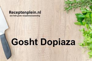 Gosht Dopiaza