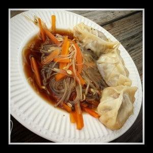 Glass Noodle soep