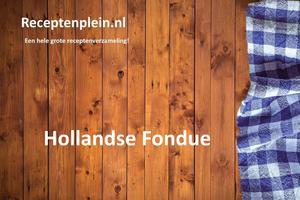 Hollandse Fondue