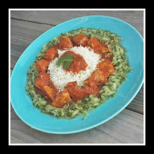 In Port gemarineerde Kip Curry met Groene Pepertjes