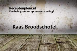 Kaas Broodschotel