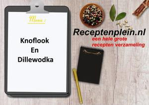 Knoflook En Dillewodka