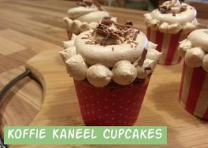 Koffie Kaneel Cupcakes