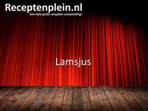 Lamsjus