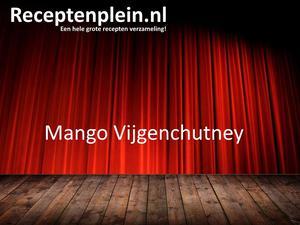 Mango Vijgenchutney