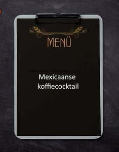 Mexicaanse koffiecocktail
