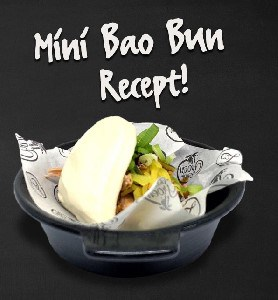 Mini Bao Buns van pulled pork!