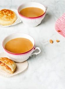 Mini kaneel en pindakaas pancakes & Envivo Lungo