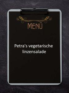 Petra's vegetarische linzensalade