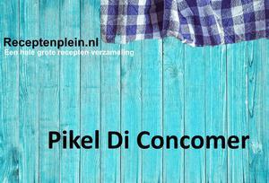 Pikel Di Concomer