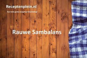 Rauwe Sambalans