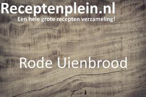 Rode Uienbrood