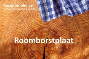 Roomborstplaat