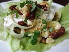 Gegrillde groentesalade