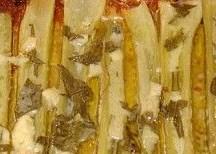 Bleekselderij met Roquefort