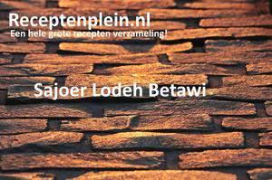 Sajoer Lodeh Betawi