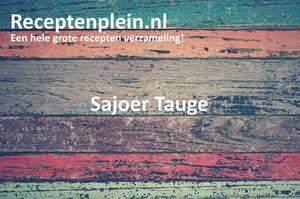 Sajoer Tauge