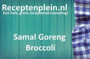 Samal Goreng Broccoli