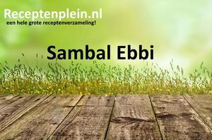 Sambal Ebbi