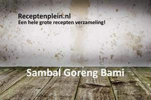Sambal Goreng Bami