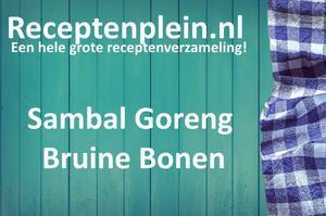 Sambal Goreng Bruine Bonen