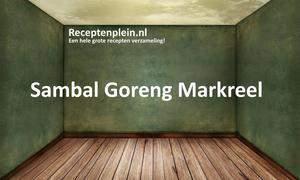 Sambal Goreng Markreel