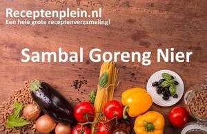 Sambal Goreng Nier