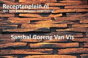 Sambal Goreng Van Vis