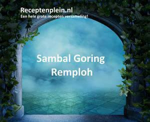 Sambal Goring Remploh