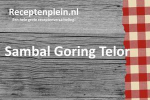 Sambal Goring Telor 3