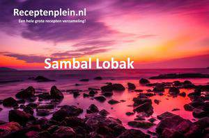 Sambal Lobak