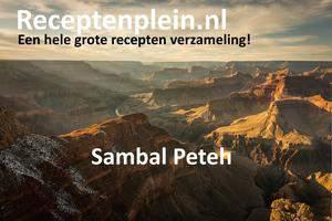 Sambal Peteh