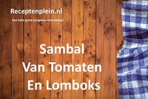 Sambal Van Tomaten En Lomboks