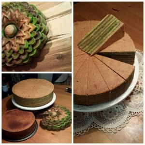 Indonesische Spekkoek