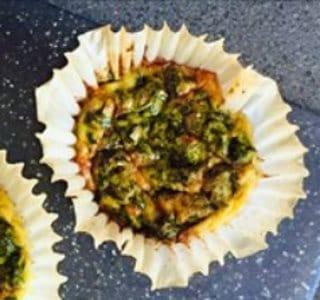 Spinazie muffins